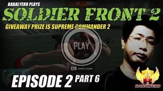Soldier Front 2 Gameplay E2P6 Giveaway Prize Is Supreme Commander 2