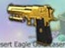 Gold Desert Eagle Laserdot