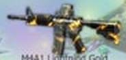 M4A1 Lightning Gold