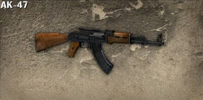 Ak47 soldier of fortune