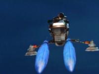 Pilotonskybikefrontfiring
