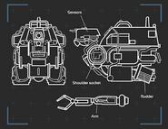 Deltabaseterminal robot 2