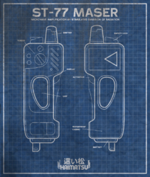 ST-77 Maser blueprint