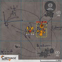 Johan Ross Alpha overview map