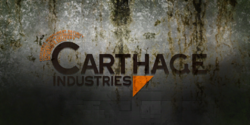 Carthage Industries poster grimy