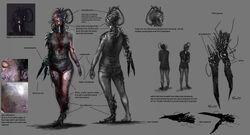 Robot Girl Concept