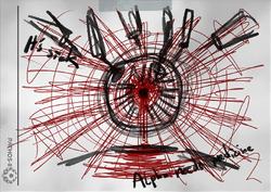 Raleigh Herber Alpha Needs Medicine drawing
