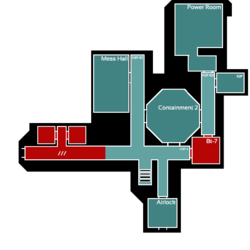 Omicron Second Floor Map