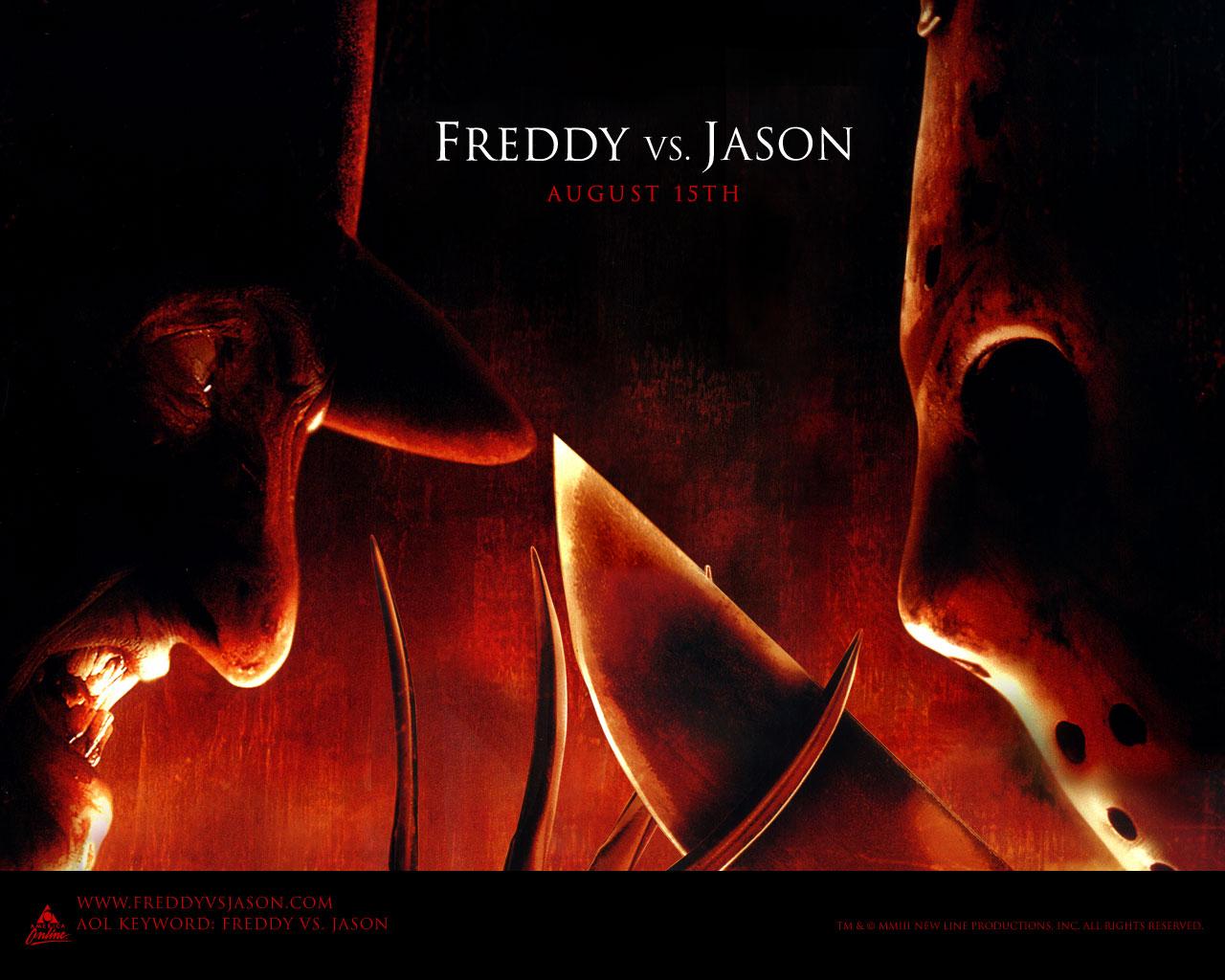 Wallpaper Freddy Vs Jason