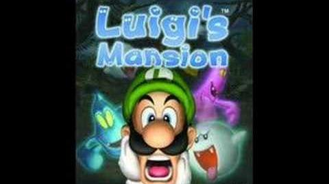 Luigi's Beta Mansion
