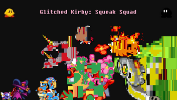 Glitched kirby squeak squad image by hyperhimes123-dbnrpeu