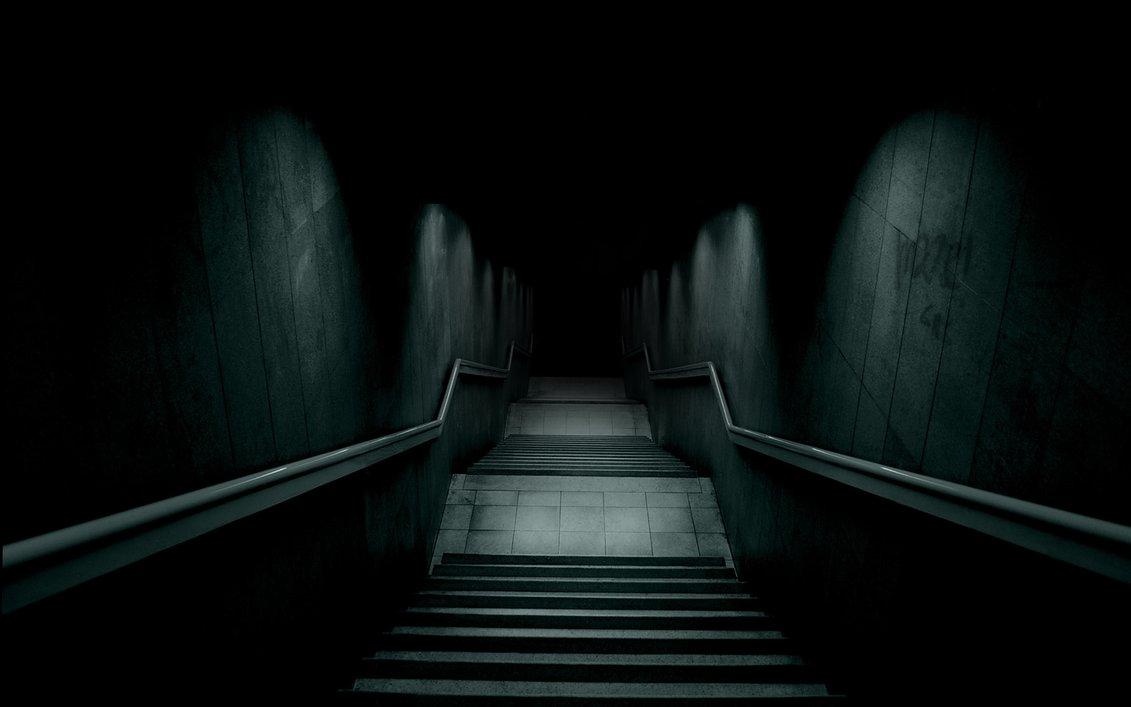 Dark Hallway Widescreen Hd Wallpaper