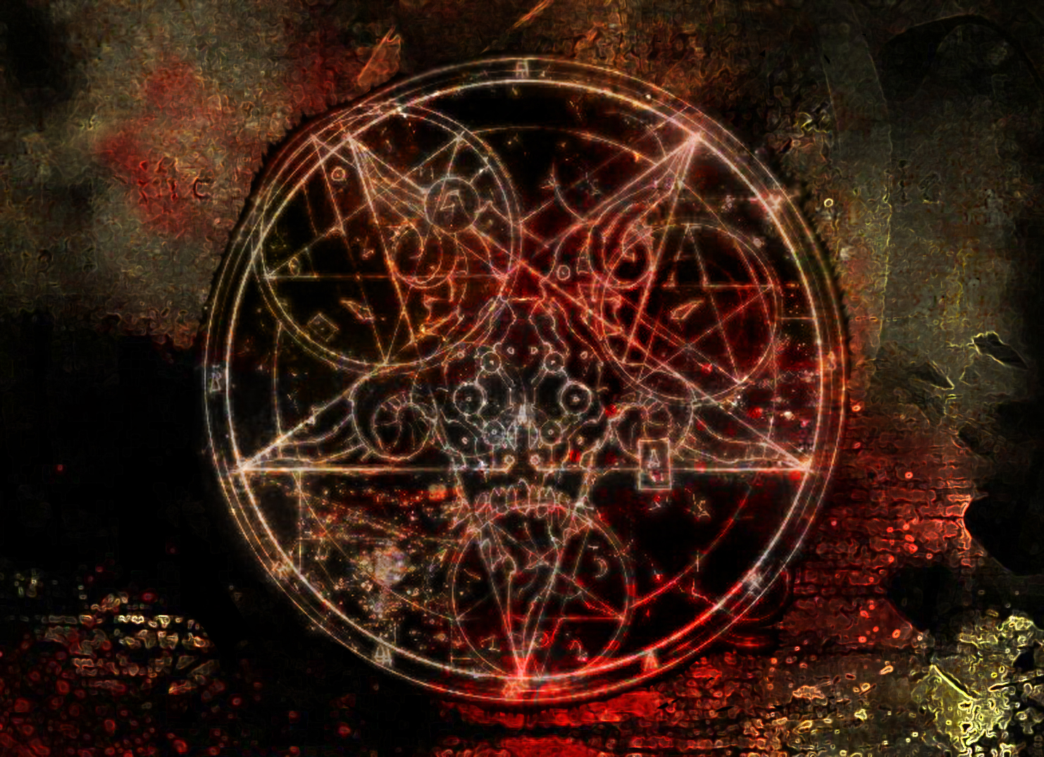 Space Demonic Art Hd Wallpaper: SomeOrdinaryGamers Wiki