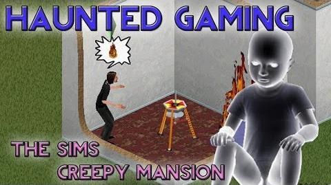 Haunted Gaming - The Sims Creepy Mansion (CREEPYPASTA)