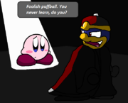 Dancing Kirby Fanart