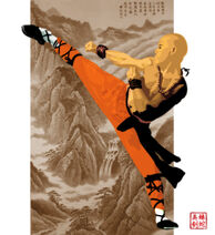Shaolin Monk by BlackEyedAsian