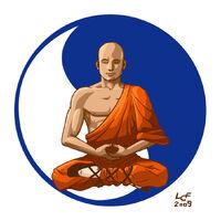 Shaolin Monk final by luizferrarezzi