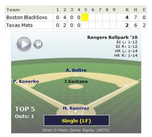 Game replay screenshot 2010