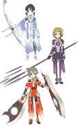 Washio Sumi Characters