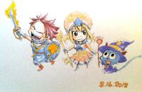 Natsu lucy y happy chibi 2 by luna460-d5bg8cg