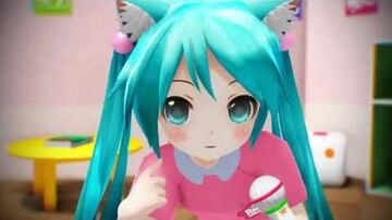 "Loli Miku Sings ""World is Mine"""