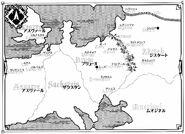 Madan no Ou to Vanadis V8 World Map