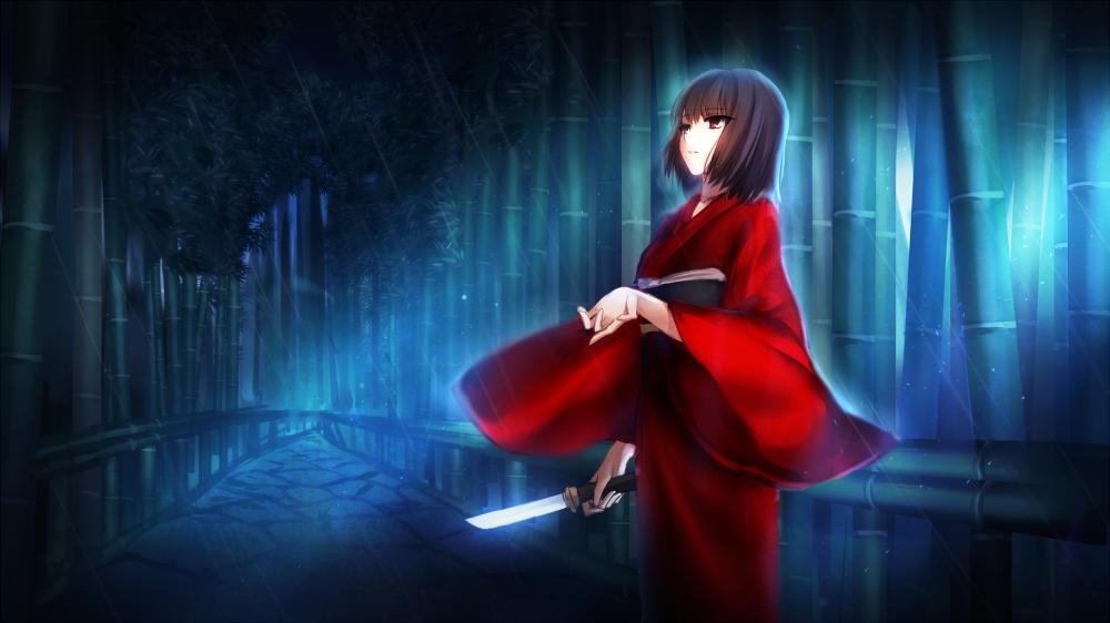 Kara-no-kyoukai-shiki-ryougi-raining-bamboo-knife-kimono-anime-7527-resized