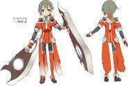 Washio Sumi Characters - Minowa Gin hero