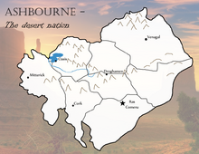 Ashbourne Map