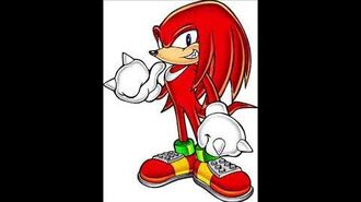 Sonic Adventure 2 - Knuckles The Echidna Voice Sound