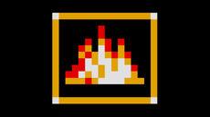 Sonic item box wallpaper flame shield by kbabz-d4l1jp3