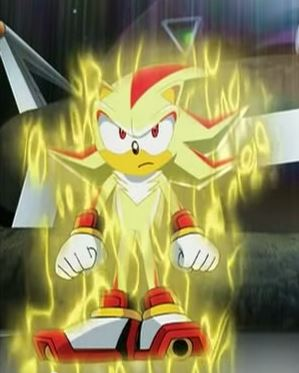 Super Shadow Sonic X  SONIC AND HAMTARO Wiki  FANDOM powered