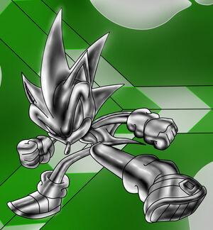 Metal Hedgehog Dude