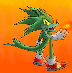 Dragon Hedgehog Dude