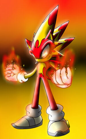 Fire Hedgehog Dude