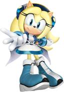 Sonic Super Battle Maria Render