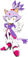 Sonic series blaze 2D