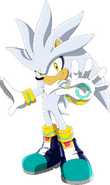Sonic series silver 2D