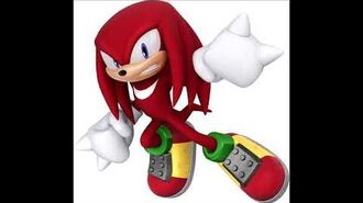 Sonic Lost World - Knuckles The Echidna Voice Clips