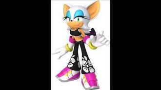 Sonic Free Riders - Rouge The Bat Unused Voice Sound