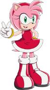 Sonic series amy 2D