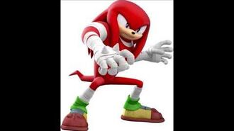 Sonic Dash 2 Sonic Boom - Knuckles The Echidna Voice Clips