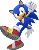 Sonic in Sonic Lost World