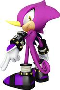 Sonic Channel Espio 3D Render