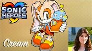 Cream Voice clips ~ Sarah Wulfeck (Sonic Heroes)