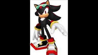 Sonic Free Riders - Shadow The Hedgehog Unused Voice Sound