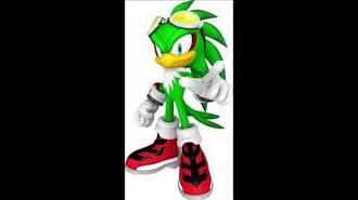 Sonic Free Riders - Jet The Hawk Unused Voice Sound