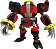 Sonic 2006 Omega