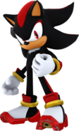 Sonic Channel Shadow 3D Render