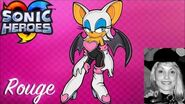 Rouge Voice clips ~ Lani Minella (Sonic Heroes)